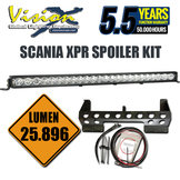 "VISION X XPR-24M LIGHT BAR 45"" 240W 5° SCANIA KIT"
