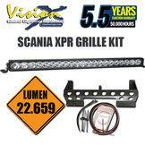 "VISION X XPR-21M LIGHT BAR 40"" 210W 5° SCANIA KIT"