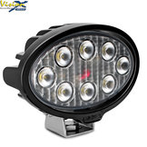 VL SERIES OVAL 8-LED 40W W/DT